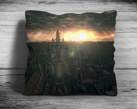 """Подушка """"Dark Souls"""" (арт. 5; 28х28 см) — фото, картинка"""