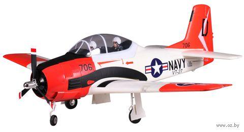 "Самолет на радиоуправлении ""Mini North American T-28"" — фото, картинка"