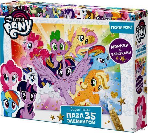 """Пазл """"My Little Pony. Облачные пони"""" (35 элементов) — фото, картинка"""