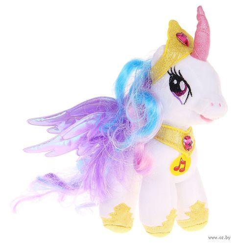 """Мягкая музыкальная игрушка """"My Little Pony. Принцесса Селестия"""" (18 см) — фото, картинка"""