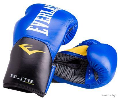 "Перчатки боксёрские ""Elite ProStyle"" (14 унций; синие) — фото, картинка"