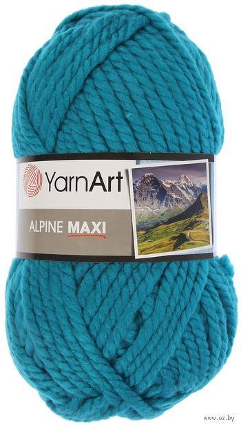 "Пряжа ""YarnArt. Alpine Maxi №660"" (250 г; 105 м; бирюза) — фото, картинка"