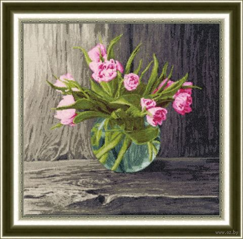 """Вышивка крестом """"Голландские тюльпаны"""""""