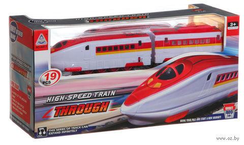 """Железная дорога """"High-Speed Train. Through"""" — фото, картинка"""