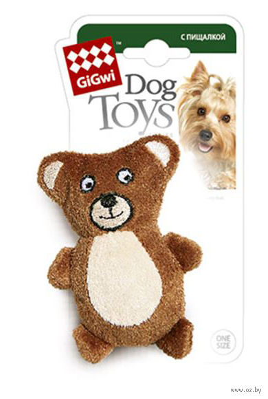 """Игрушка для собак """"Медведь"""" (9 см)"""