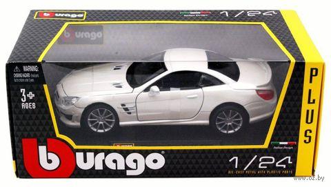 """Модель машины """"Bburago. Mercedes-Benz SL 65 AMG Hard Top"""" (масштаб: 1/24) — фото, картинка"""