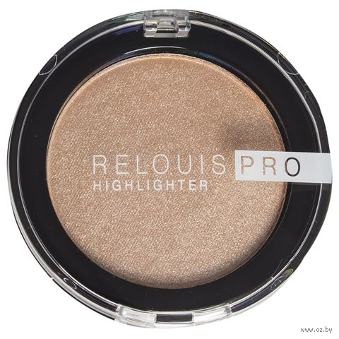 "Хайлайтер для лица ""Relouis Pro Highlighter"" (тон: 02, champagne) — фото, картинка"
