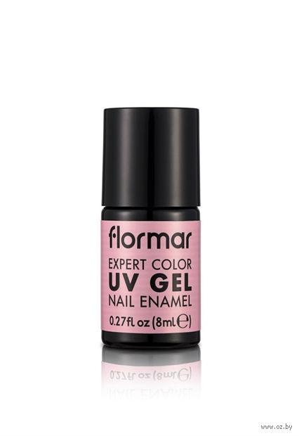 """Лак для ногтей """"Expert Color UV Gel Nail Enamel"""" (тон: 03, сладкая балерина) — фото, картинка"""