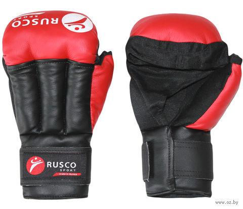 Перчатки для рукопашного боя (8 унций; красные) — фото, картинка