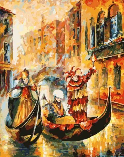"Картина по номерам ""Венецианская гондола"" (300х400 мм) — фото, картинка"