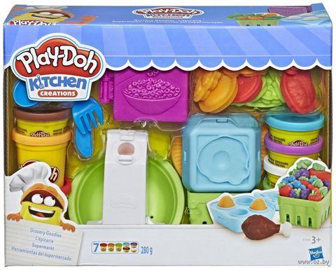"""Набор для лепки """"Play-Doh. Готовим обед"""" — фото, картинка"""