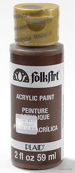 """Краска акриловая """"FolkArt. Acrylic Paint"""" (кофейные зерна, 59 мл; арт. PLD-00940)"""