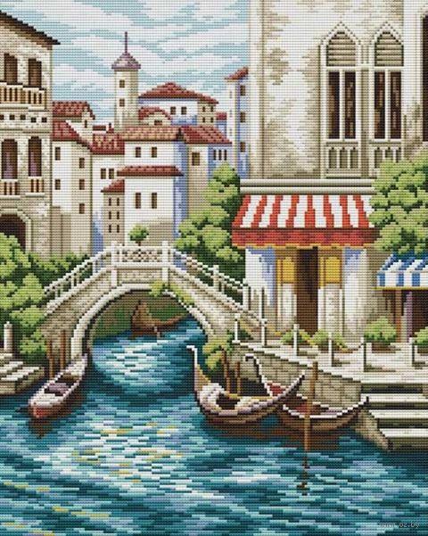 "Вышивка крестом ""Улочки Венеции"""