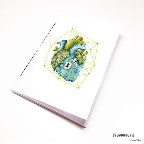 """Блокнот """"Сердце"""" (А7; арт. 719) — фото, картинка"""