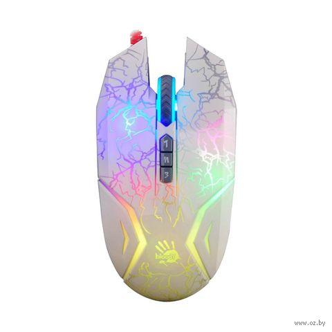 Игровая мышь A4Tech Bloody N50 (белая) — фото, картинка