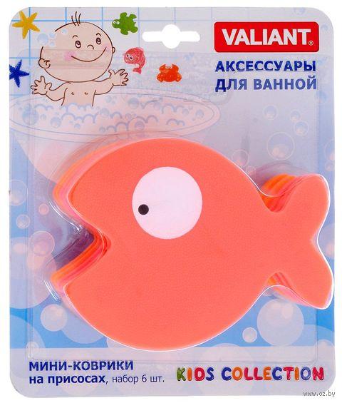 """Набор игрушек для купания """"Рыбка"""" (6 шт.) — фото, картинка"""