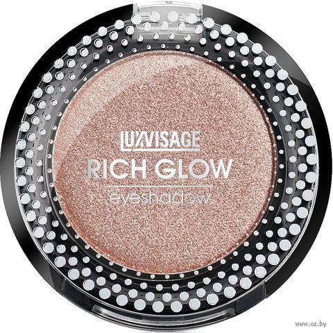 """Тени для век """"Rich Glow"""" тон: 05, peach vanilla — фото, картинка"""