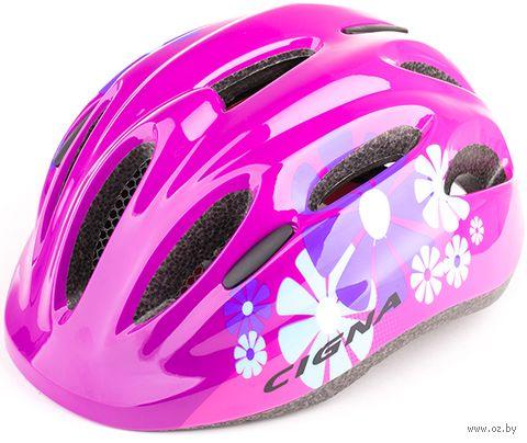 """Шлем велосипедный детский """"WT-024"""" (чёрно-красный) — фото, картинка"""