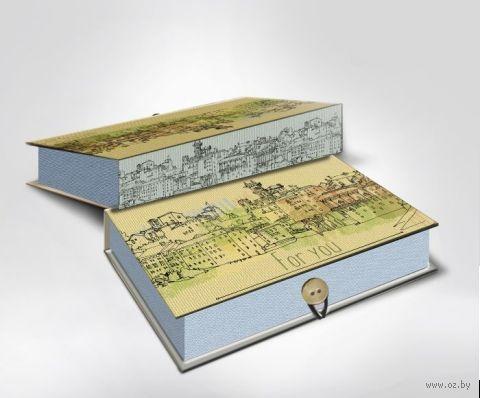 "Подарочная коробка ""BASSANO DEL GRAPPA"" S (18х12х5 см; арт.42370) — фото, картинка"