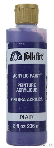 "Краска акриловая ""FolkArt. Acrylic Paint"" (фиолетовый; 236 мл; арт. PLD-00878) — фото, картинка"