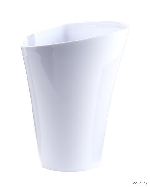 """Кашпо """"Wenus"""" (14 см; белое) — фото, картинка"""