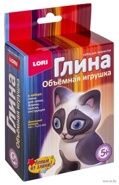 """Набор для лепки из глины """"Домашний котёнок"""" — фото, картинка"""