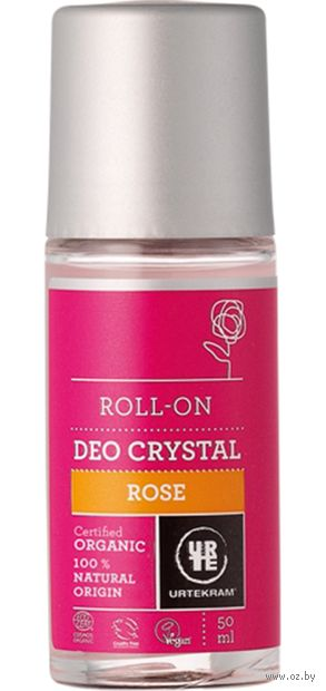 """Дезодорант унисекс """"Роза"""" (ролик; 50 мл) — фото, картинка"""