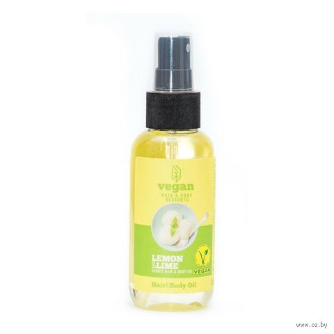 "Масло для тела и волос ""Lemon & Lime Sorbet"" (100 мл) — фото, картинка"