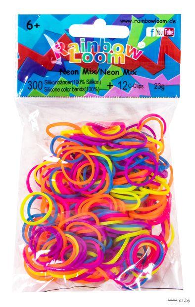 """Набор резиночек для плетения """"Rainbow Loom. Неон Микс"""""""