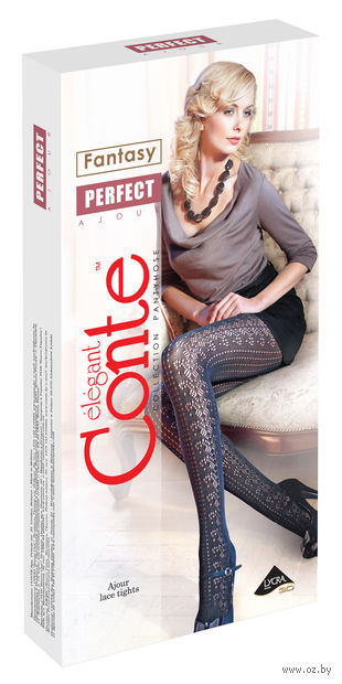 """Колготки женские фантазийные """"Conte. Perfect"""""""