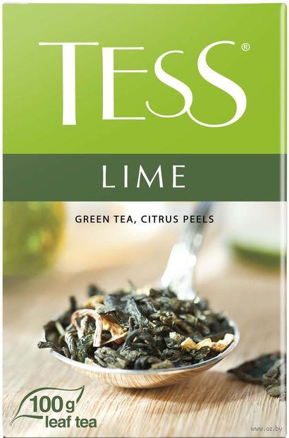 """Чай зеленый листовой """"Tess. Lime"""" (100 г) — фото, картинка"""