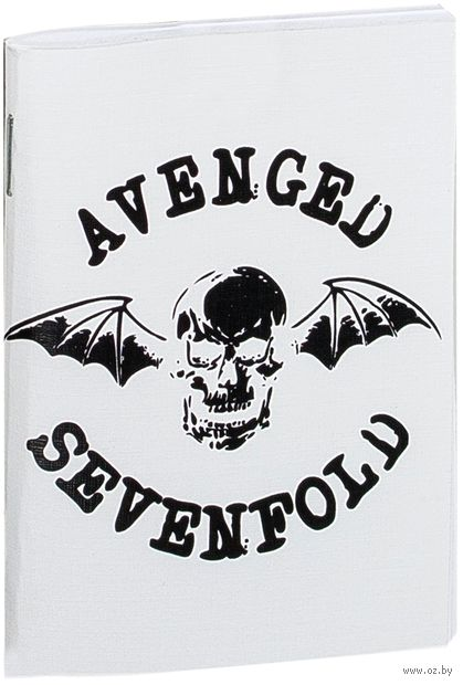 "Блокнот ""Avenged Sevenfold"" (А7; арт. 043)"
