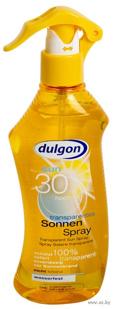 "Лосьон-спрей солнцезащитный для тела ""Dulgon"" SPF 30 (200 мл) — фото, картинка"