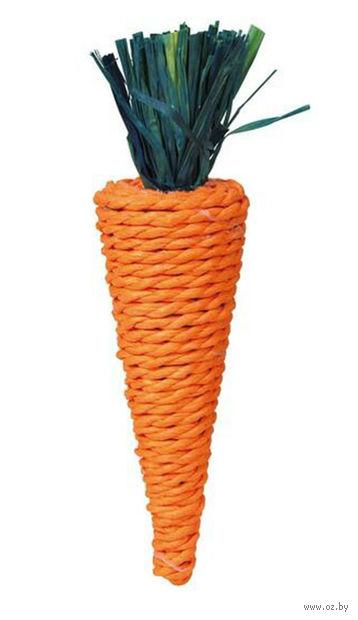 """Игрушка для грызунов """"Морковь"""" (20 см)"""