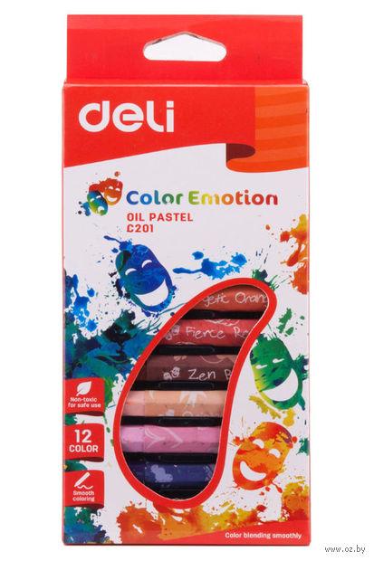 """Пастель масляная """"Color Emotion"""" (12 цветов) — фото, картинка"""