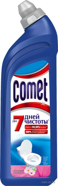 """Чистящее средство для туалета COMET """"Весенняя свежесть"""" (750 мл)"""