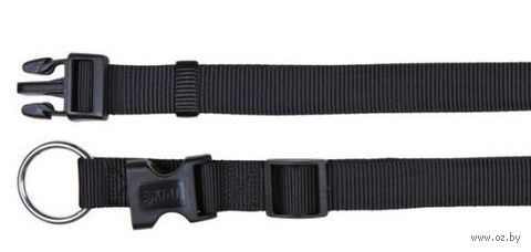 """Ошейник нейлоновый для собак """"Classic"""" (размер XS-S, 22-35 см, черный, арт. 14201)"""