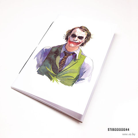 "Блокнот белый ""Джокер"" А7 (044)"