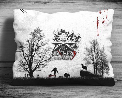 "Подушка ""Ведьмак"" (арт. 2; 28х38 см) — фото, картинка"