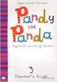 Pandy the Panda: Teacher's Guide 3 (+ CD) — фото, картинка