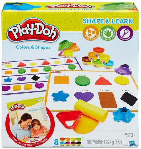 """Набор для лепки """"Play-Doh. Цвета и формы"""" — фото, картинка"""