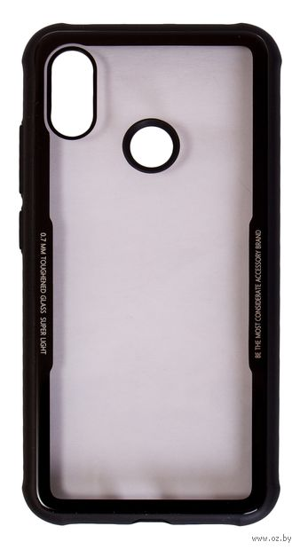 Чехол Biggo для Xiaomi Mi 8 (черный) — фото, картинка