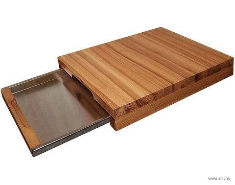 """Доска разделочная деревянная """"King"""" (400х300 мм) — фото, картинка"""