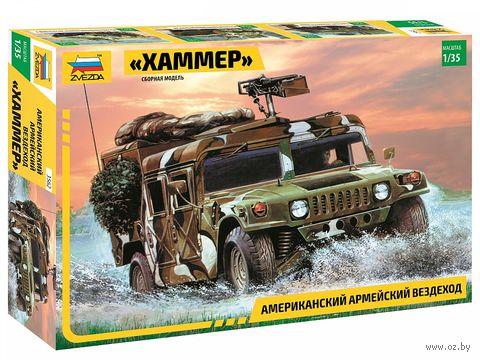 "Сборная модель ""Американский армейский вездеход ""Хаммер"" (масштаб: 1/35) — фото, картинка"