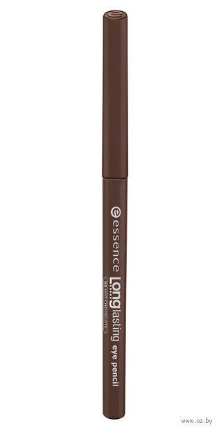 "Карандаш для глаз ""Longlasting Eye Pencil"" (тон: 02, коричневый) — фото, картинка"