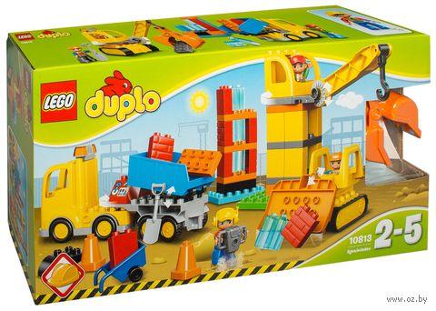 """LEGO Duplo """"Большая стройплощадка"""" — фото, картинка"""