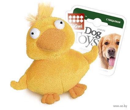 """Игрушка для собак """"Утка"""" (13 см) — фото, картинка"""
