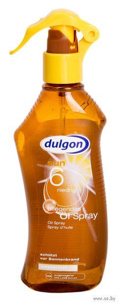 "Масло-спрей солнцезащитное для тела ""Dulgon"" SPF 6 (200 мл) — фото, картинка"