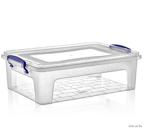 Ящик для хранения с крышкой (10 л) — фото, картинка
