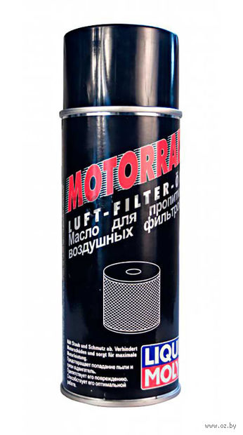 """Масло для воздушных фильтров мотоциклов """"Motorrad Luft-Filter-Oil"""" (0,4 л) — фото, картинка"""